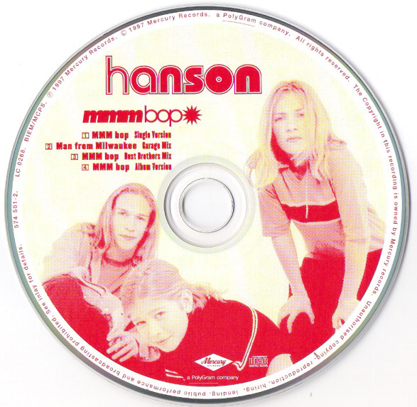 hanson black singles It's been 20 years since hanson's hit single, 'mmmbop' topped the charts now, they've released a memorable music video for their new song, 'i was born' to help commemorate their .
